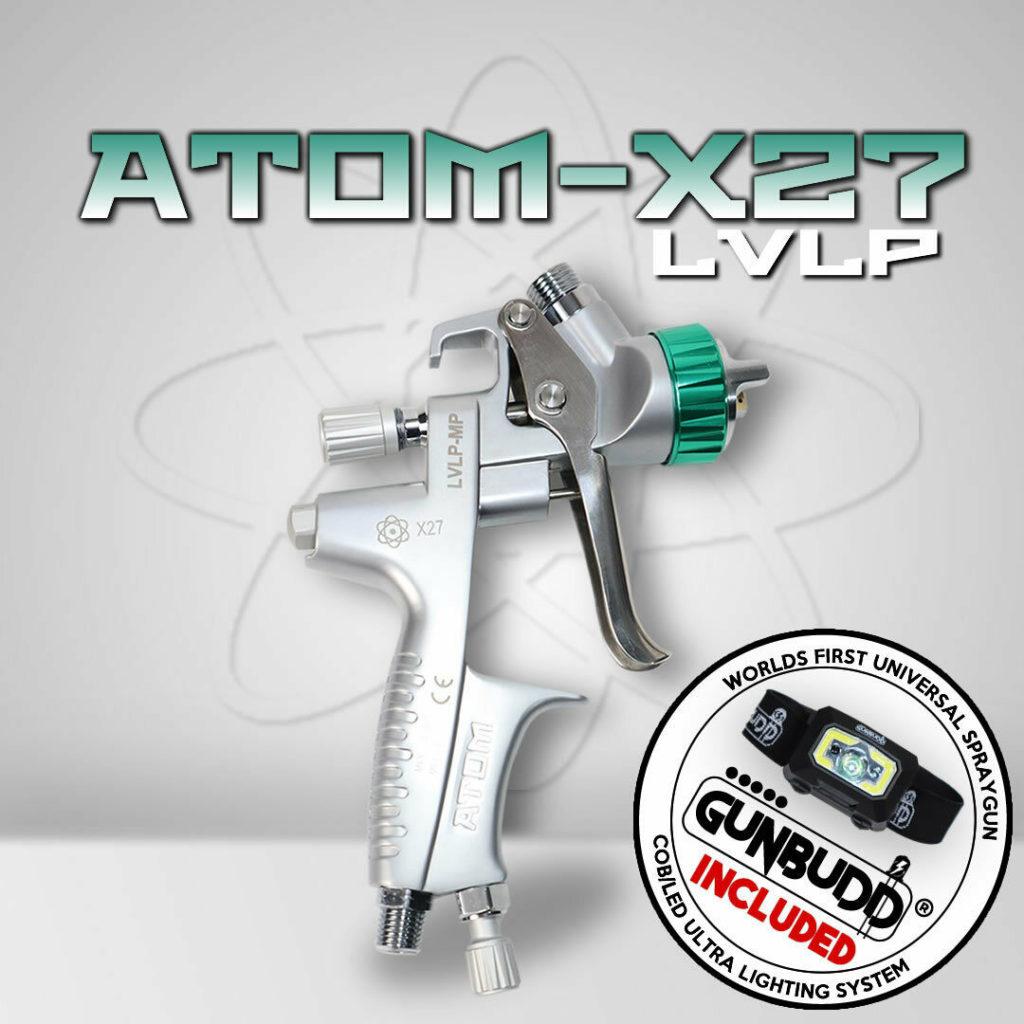 ATom X27 Spray Gun LVLP on Zoolaa