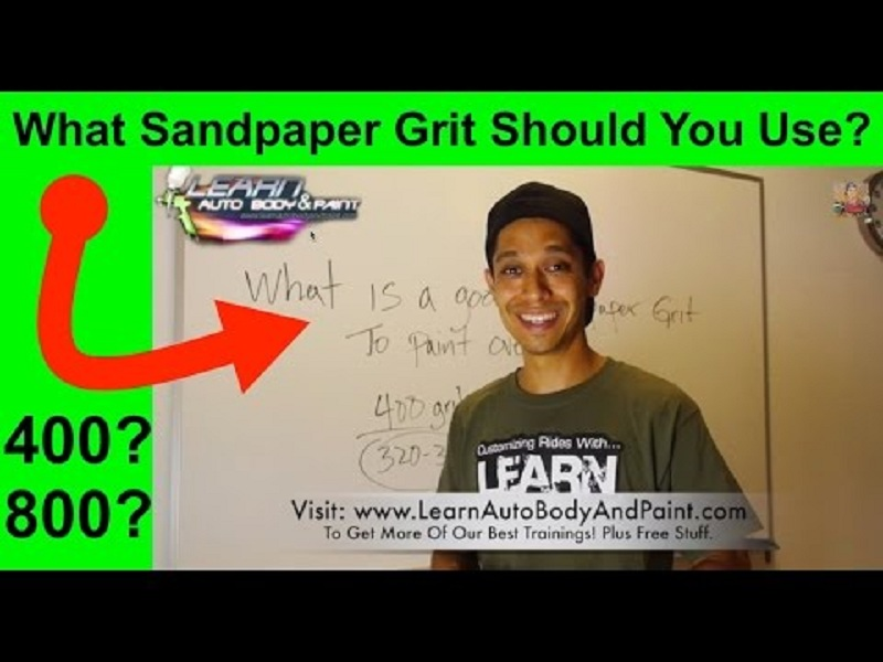 Correct Sandpaper Grit You Should Sand Your Car With